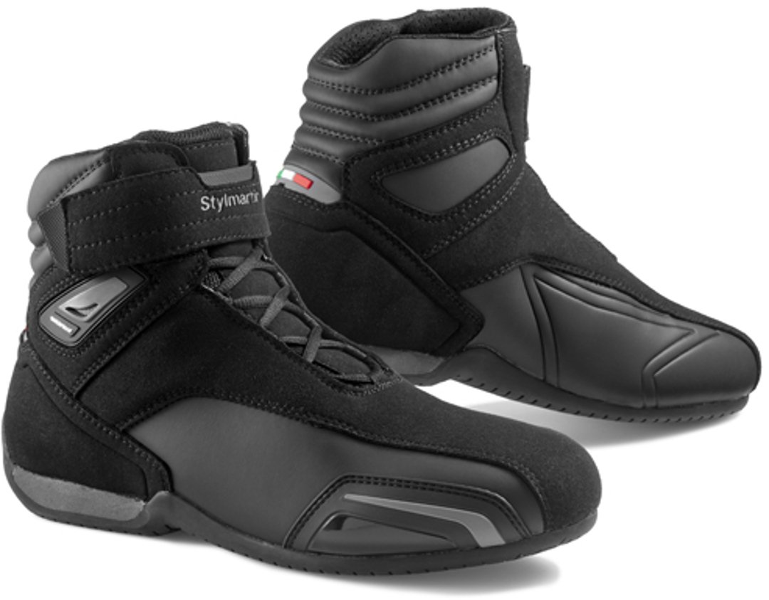Stylmartin Vector Motorradschuhe, schwarz-grau, Größe 43, schwarz-grau, Größe 43