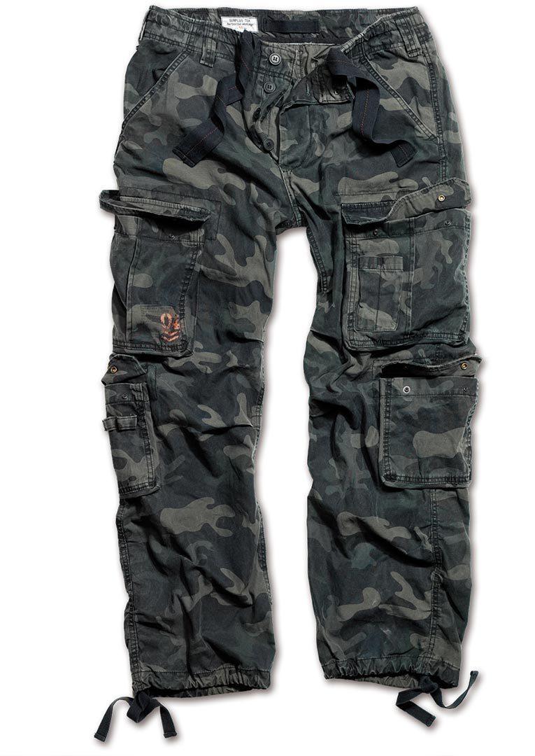 Surplus Airborne Vintage Hose, schwarz, Größe 2XL, schwarz, Größe 2XL