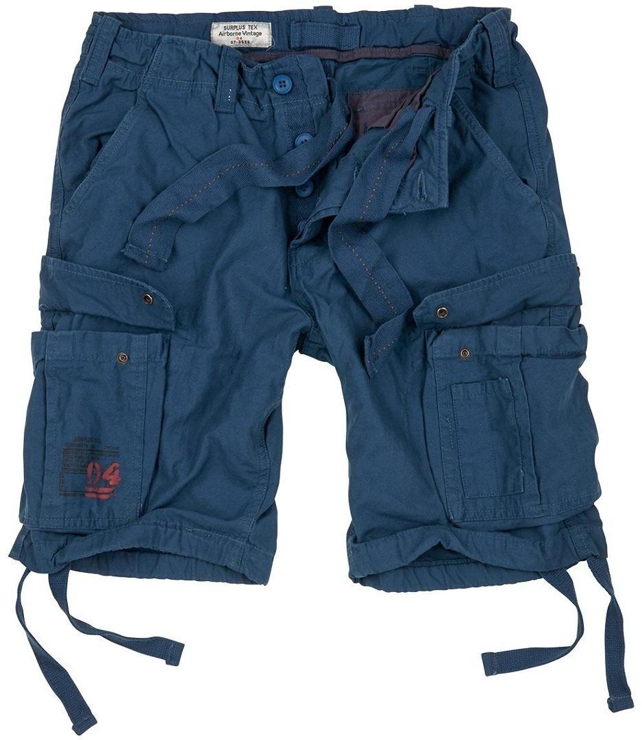 Surplus Airborne Vintage Shorts, blau, Größe 6XL, blau, Größe 6XL