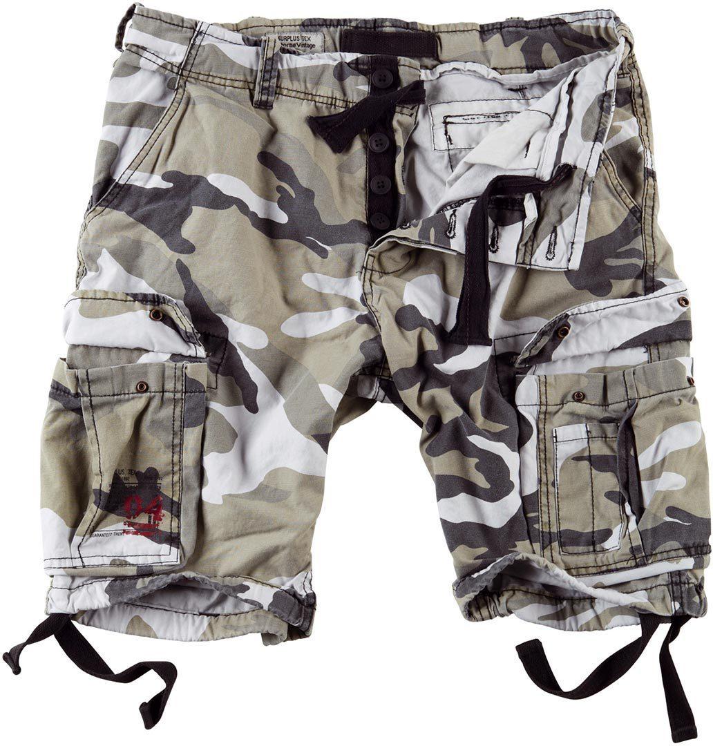 Surplus Airborne Vintage Shorts, grau, Größe 5XL, grau, Größe 5XL