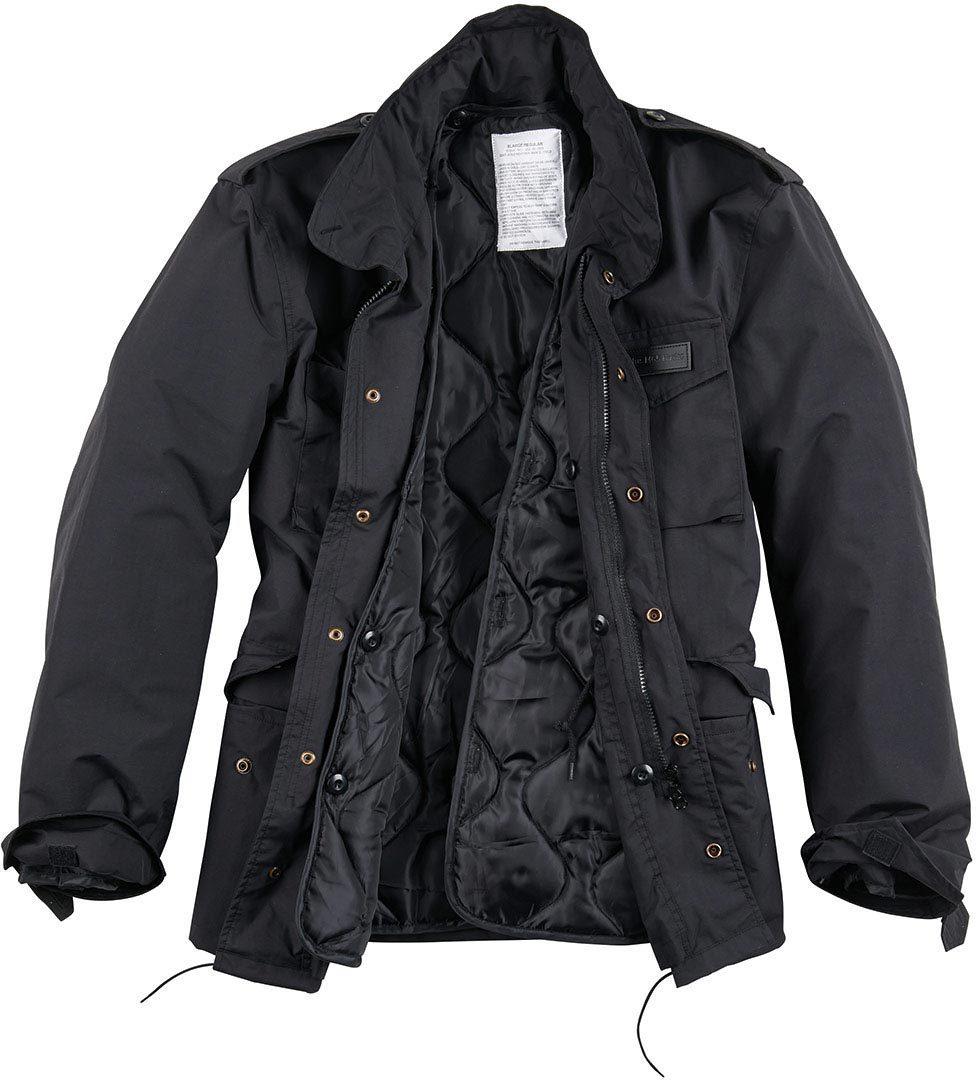 Surplus Hydro US Fieldjacket M65 Jacke, schwarz, Größe M, schwarz, Größe M