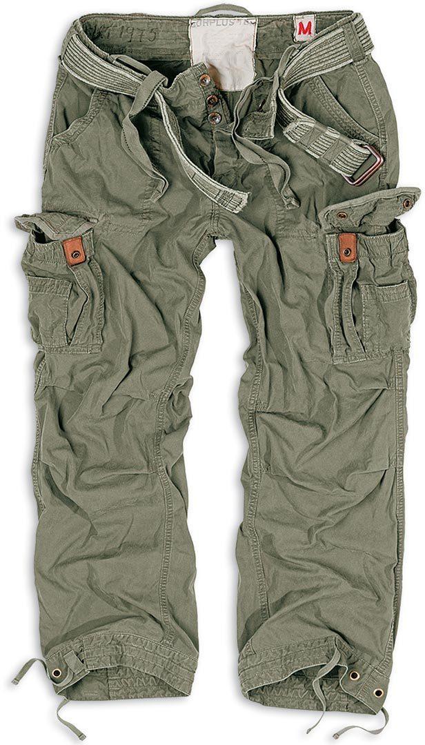 Surplus Premium Vintage Hose, grün, Größe 2XL, grün, Größe 2XL