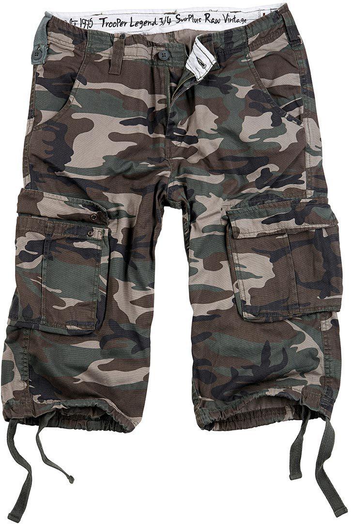 Surplus Trooper Legend 3/4 Shorts, grün, Größe 7XL, grün, Größe 7XL