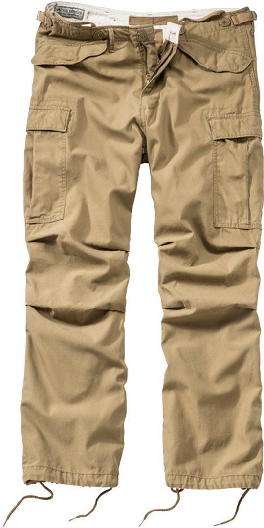 Surplus Vintage Fatigue Hose, beige, Größe M, beige, Größe M