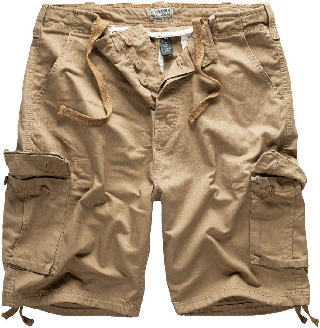 Surplus Vintage Shorts, beige, Größe M, beige, Größe M