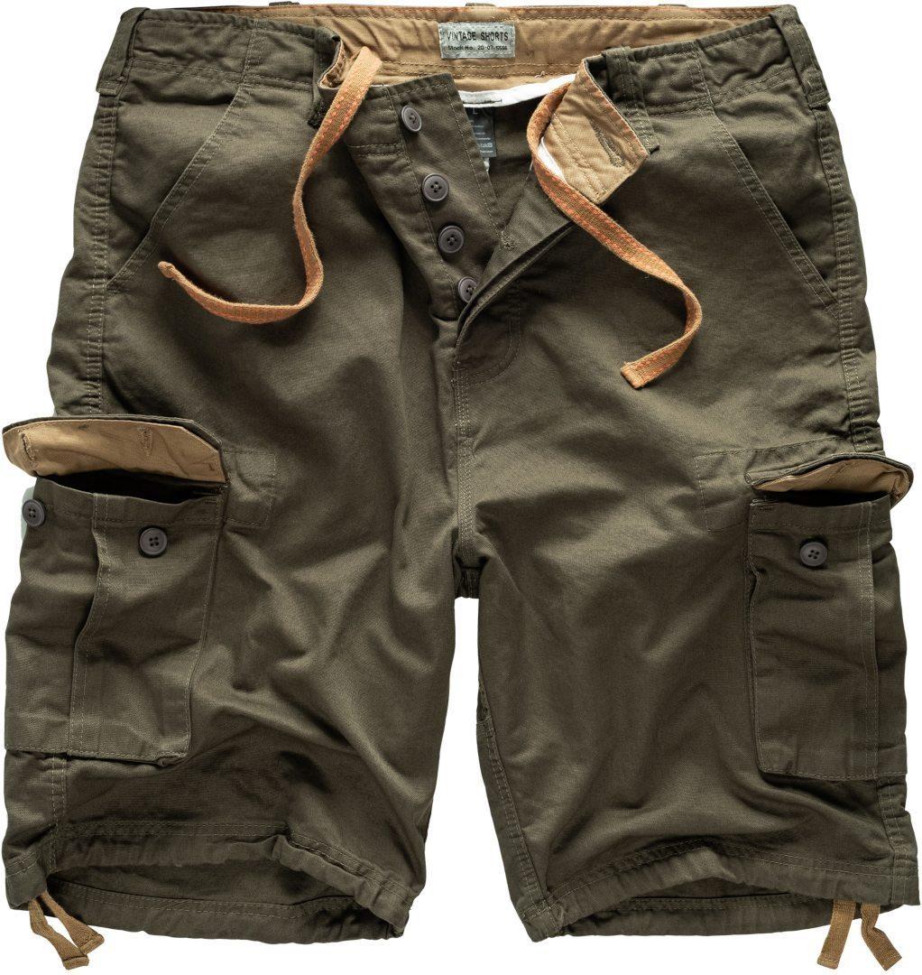 Surplus Vintage Shorts, grün, Größe S, grün, Größe S