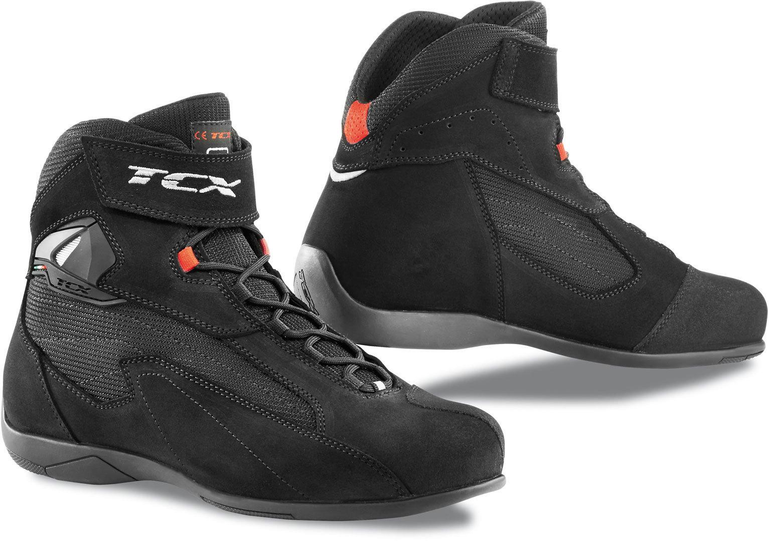 TCX Pulse Motorradschuhe, schwarz, Größe 41, schwarz, Größe 41