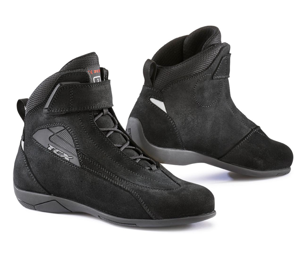 TCX Sport Damen Motorradschuhe, schwarz, Größe 36, schwarz, Größe 36