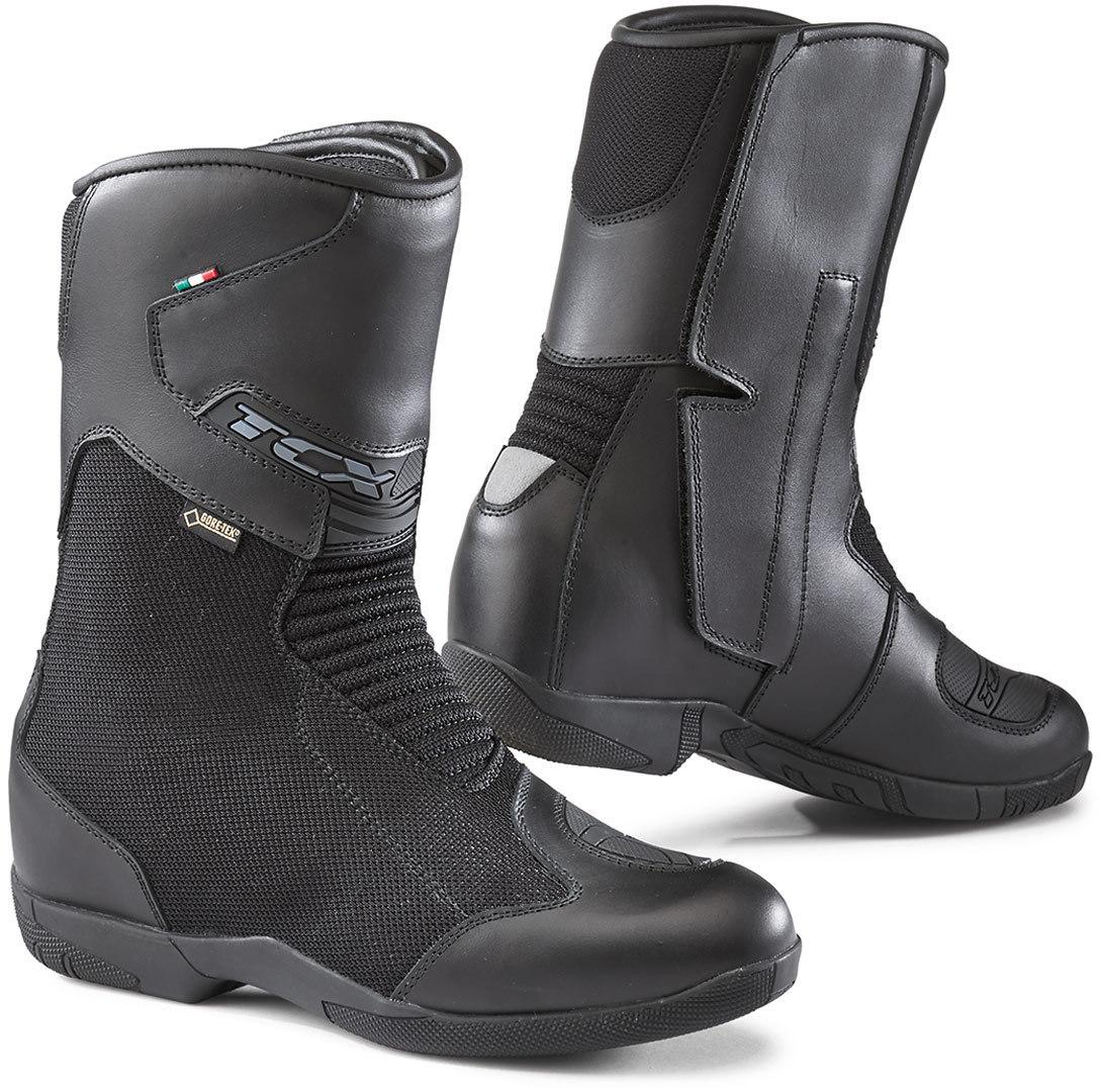 TCX Tourer GTX Damen Motorradstiefel, schwarz, Größe 40, schwarz, Größe 40