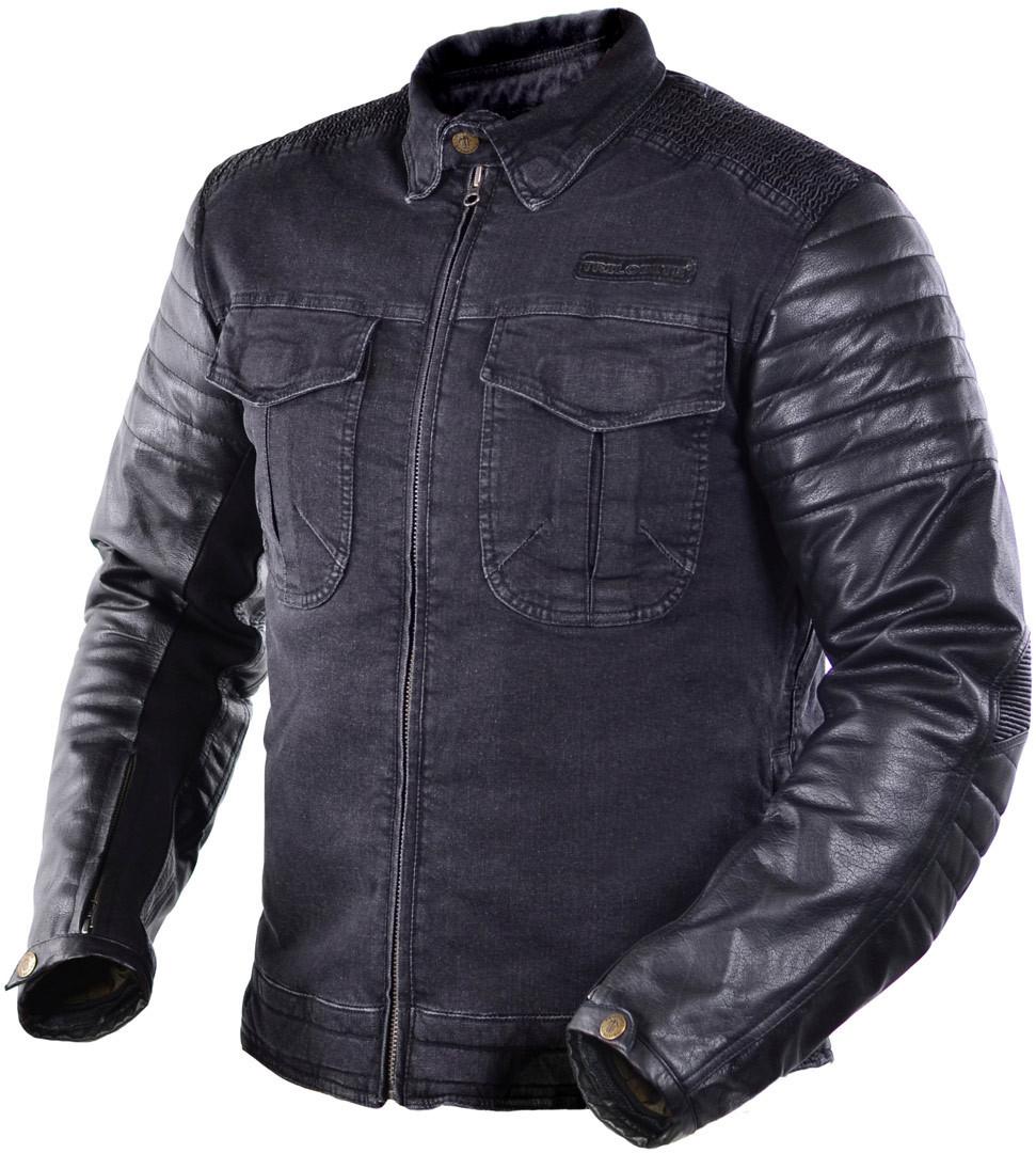 Trilobite Acid Scrambler Motorrad Textiljacke, schwarz, Größe 2XL, schwarz, Größe 2XL