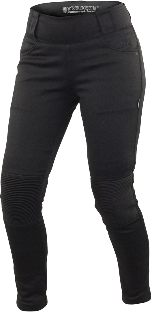 Trilobite Damen Motorrad Leggings, schwarz, Größe 28, schwarz, Größe 28