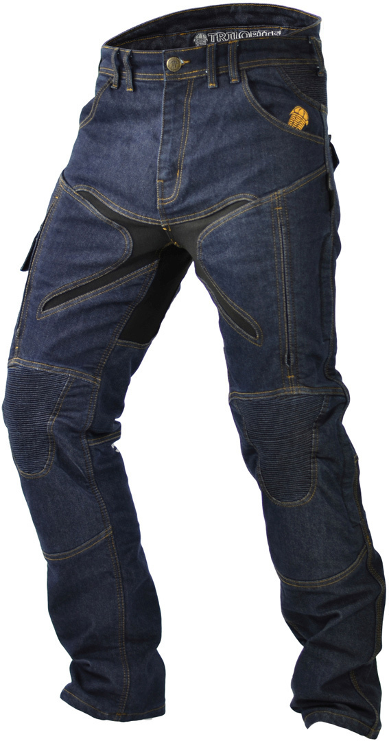Trilobite Probut X-Factor Motorradjeans, blau, Größe 34, blau, Größe 34