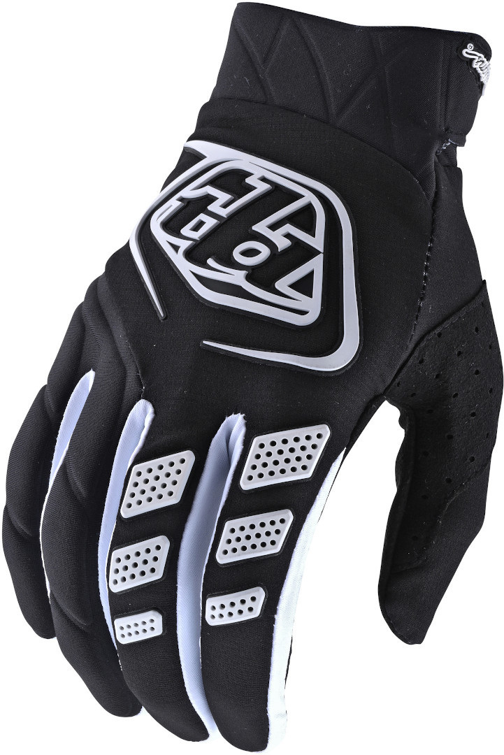 Troy Lee Designs Revox Motocross Handschuhe, schwarz, Größe S, schwarz, Größe S