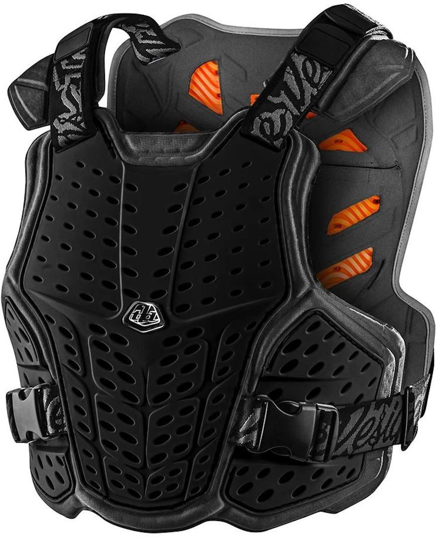 Troy Lee Designs RockFight D3O Protektorenweste, schwarz, Größe XS S, schwarz, Größe XS S