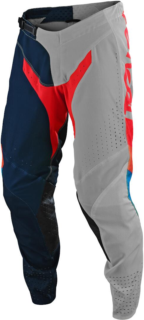 Troy Lee Designs SE Pro Tilt Motocross Hose, grau-blau, Größe 36, grau-blau, Größe 36