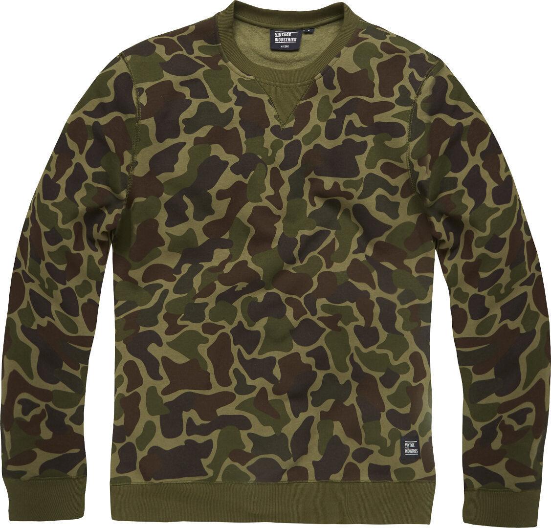 Vintage Industries Camo Greeley Sweatshirt, mehrfarbig, Größe L, mehrfarbig, Größe L
