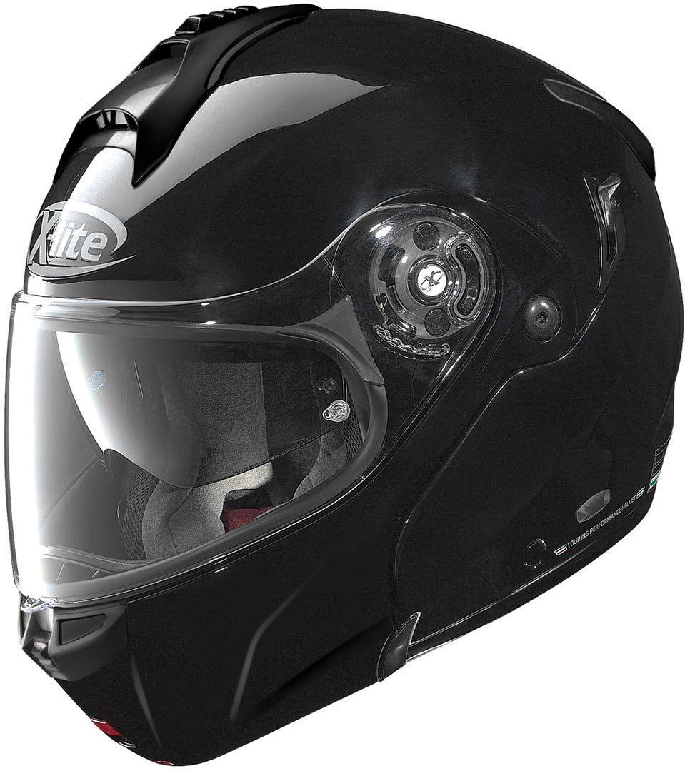 X-Lite X-1004 Elegance N-Com Klapphelm, schwarz, Größe M, schwarz, Größe M