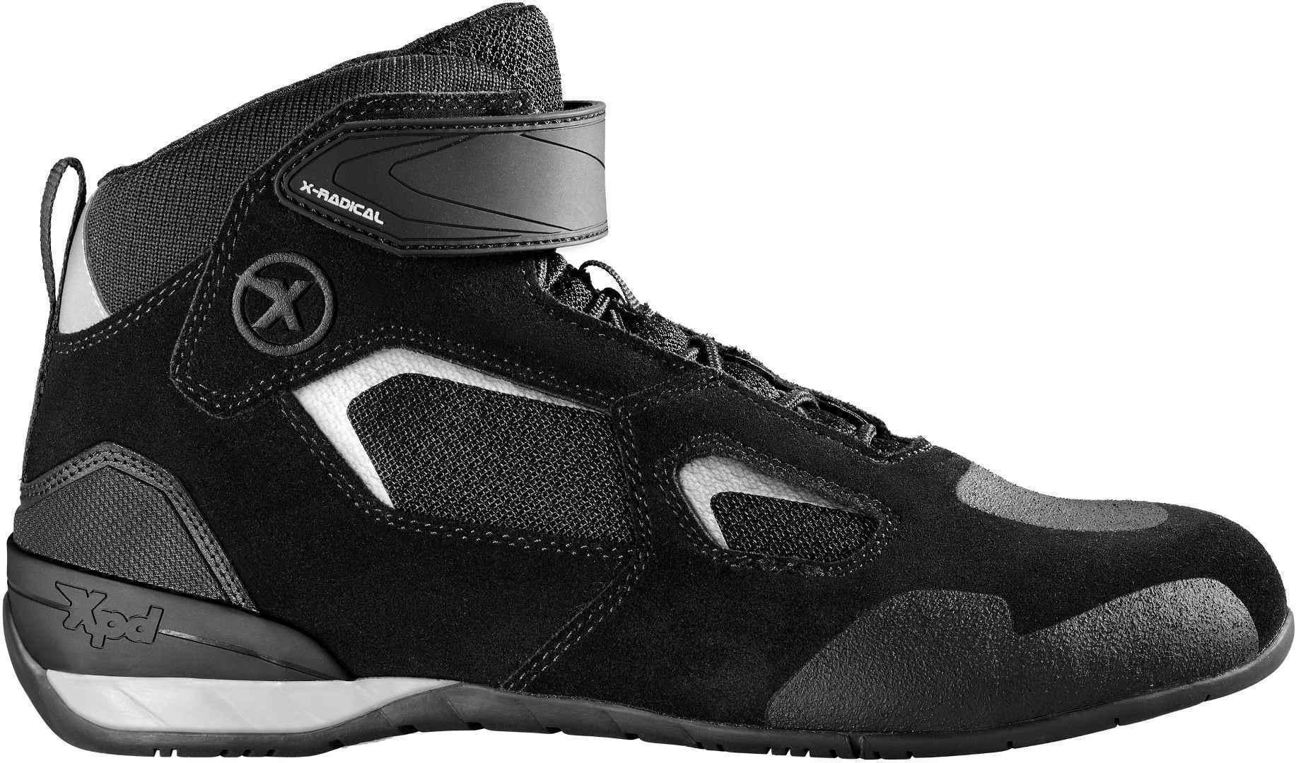 XPD X-Radical Motorrad Schuhe, schwarz-grau, Größe 44, schwarz-grau, Größe 44