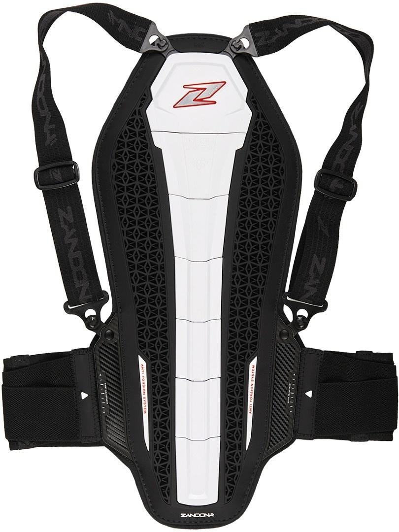 Zandona Hybrid Back Pro X7 Rückenprotektor, weiss, Größe M, weiss, Größe M